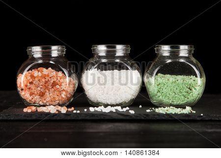Assortment of salts