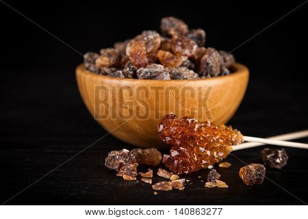 Brown sugar in a bowl