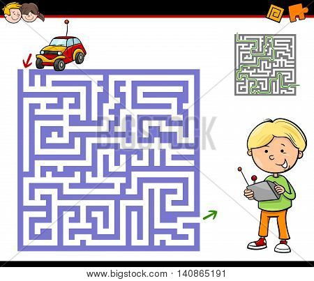 Maze Or Labyrinth Activity Task