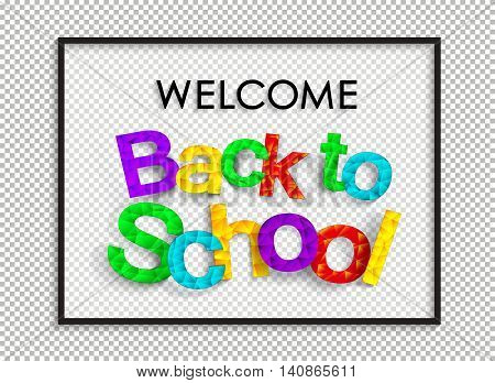 Welcome Back To School.eps