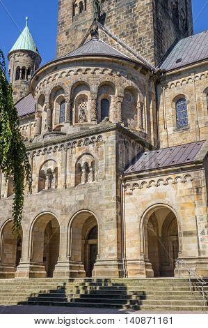 Front Of The St. Antonius Basilica In Rheine