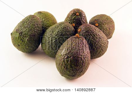 Avocados - (Hass Variety) - Nature's Super Food!  (A great image for nutrition, vegetarian, food service, professions and industry)