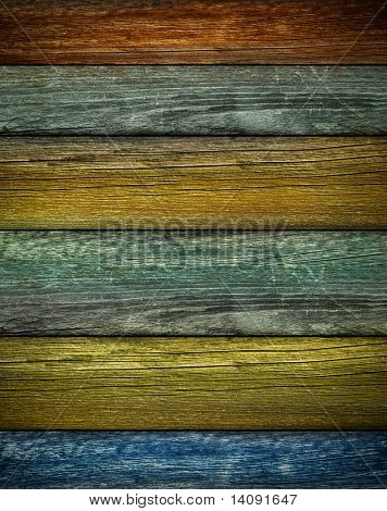 Rustic colored barn-wood background / Vertical