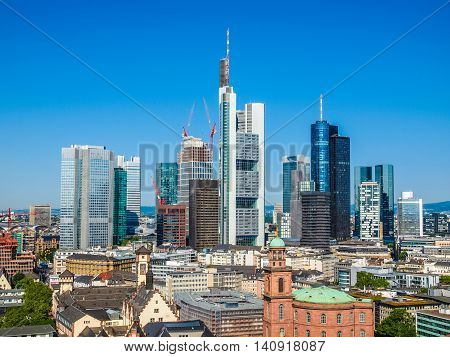 Aerial View Of Frankfurt Hdr