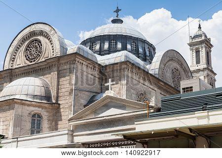 Exterior Of Hagia Triada Istanbul