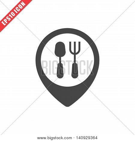 Vector Illustration Of Restaurant Icon