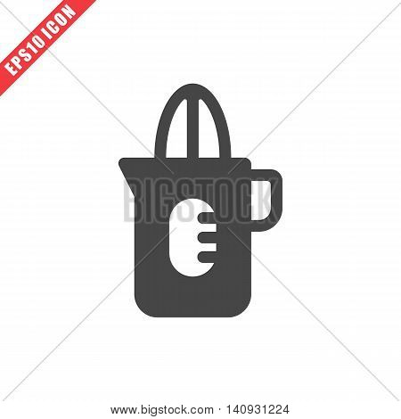 Vector Illustration Of Squeezer Icon