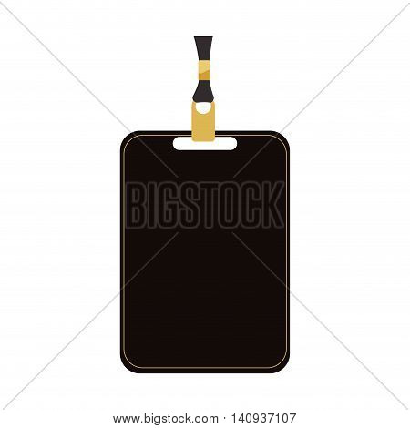 Card pass exclusive icon. Vip concept. Isolated and flat illustration. Vector graphic