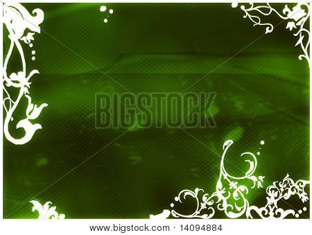 asia style backgrounds frame