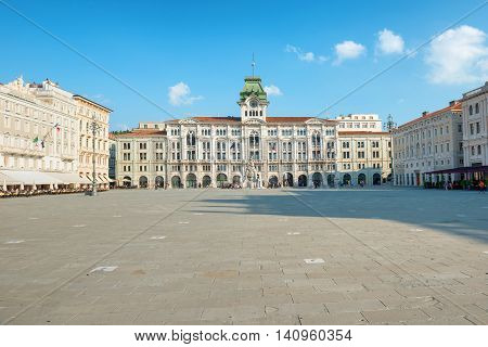 Old Town Square In European City