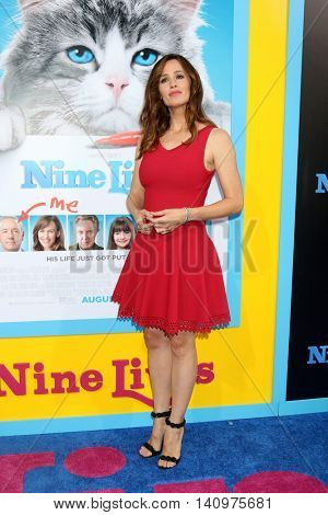 LOS ANGELES - AUG 1:  Jennifer Garner at the