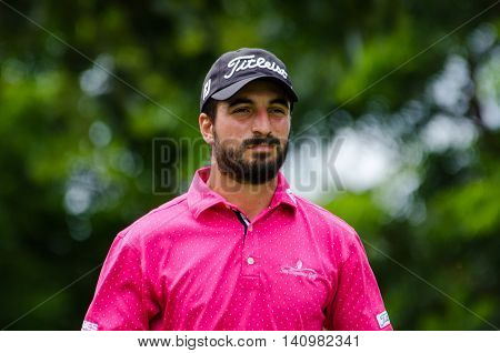 CHONBURI - JULY 31 : Francesco Laporta of Italy in King's Cup 2016 at Phoenix Gold Golf & Country Club Pattaya on July 31 2016 in Chonburi Thailand.