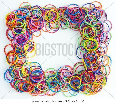 rubber band frame