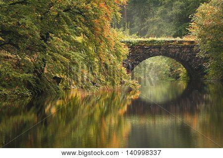 Bridge at the Lake at Clapham, Yorkshire