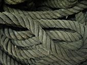 texture image of rope poster