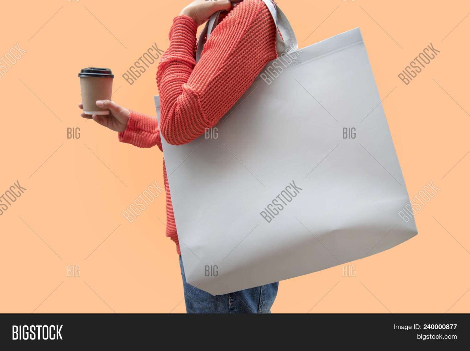Girl Holding Bag Image & Photo (Free Trial) | Bigstock