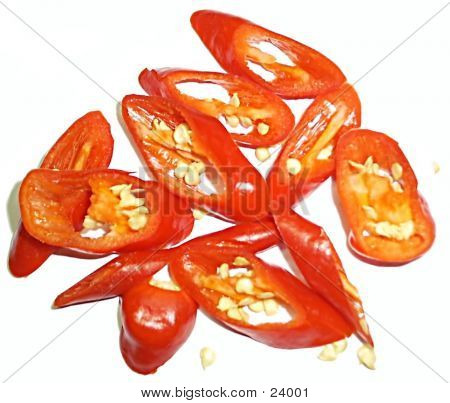 Red Chilli Slices