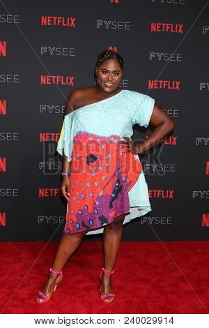 LOS ANGELES - MAY 6:  Danielle Brooks at the Netflix FYSEE Kick-Off Event at Raleigh Studios on May 6, 2018 in Los Angeles, CA