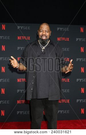 LOS ANGELES - MAY 6:  Biz Markie at the Netflix FYSEE Kick-Off Event at Raleigh Studios on May 6, 2018 in Los Angeles, CA