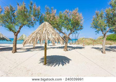 Spiaggia Terme, Apulia, Italy - Enjoying The Silence At The Beach Of Spiaggia Terme