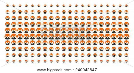Monero Currency Icon Halftone Pattern, Designed For Backgrounds, Covers, Templates And Abstract Effe