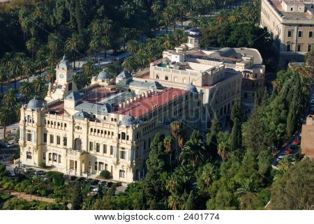 The Town Hall Of Malaga, Spain