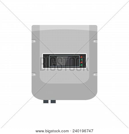 Panel Equipment Icon. Flat Illustration Of Panel Equipment Vector Icon For Web