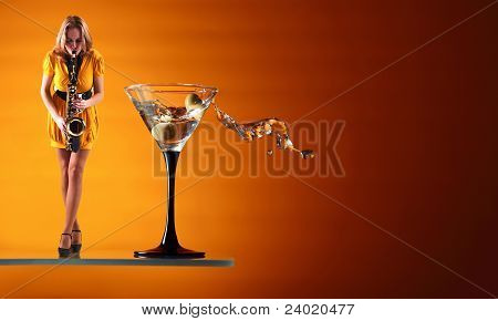 Martini Blues.
