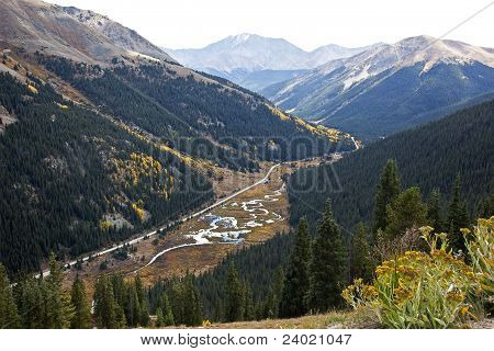Independence Pass in the Rocky Mountains
