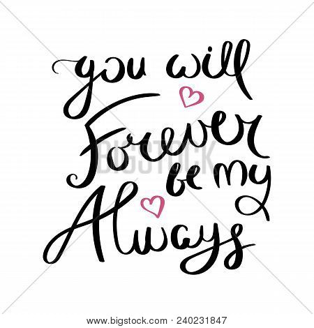 You Will Forever By Vector Photo Free Trial Bigstock