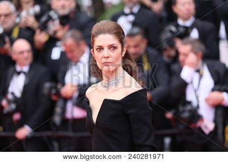Chiara Mastroianni  attends the screening of 'Sorry Angel' during the 71st annual Cannes Film Festival at Palais des Festivals on May 10, 2018 in Cannes, France.