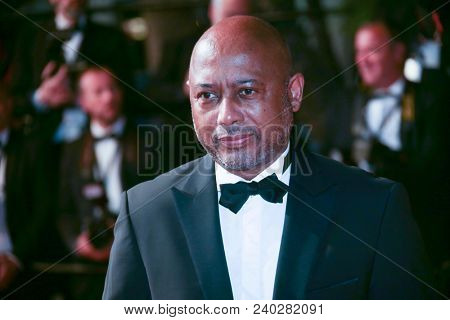 Raoul Peck attends the screening of «Cold War» during the 71st annual Cannes Film Festival at Palais des Festivals on May 10, 2018 in Cannes, France.