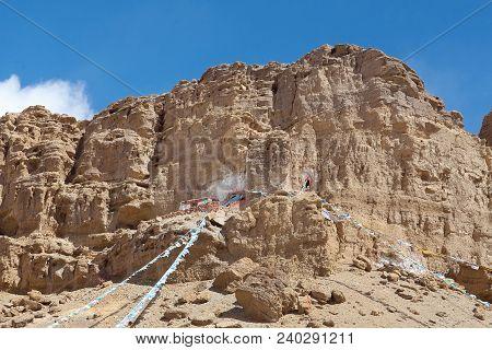 Ancient Gurugyam Bon Monastery In Guge Kingdom, Western Tibet, China