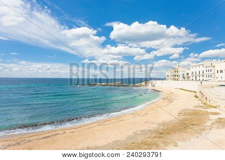 Gallipoli, Apulia, Italy - Sunshine At The Broad Beach Of Gallipoli
