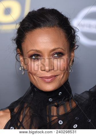 LOS ANGELES - MAY 10:  Thandie Newton arrives to the