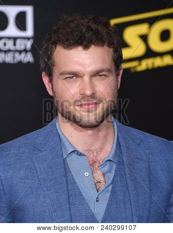 LOS ANGELES - MAY 10:  Alden Ehrenreich arrives to the