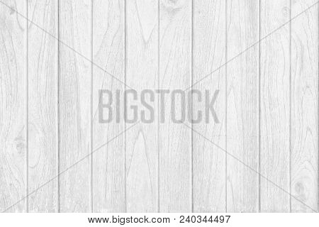 The White Wood Plank Texture For Background