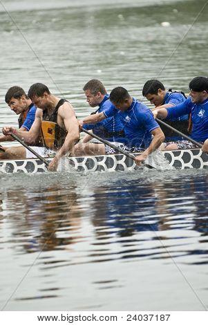 OHDBC Hydrophobic Dragon Boat racing