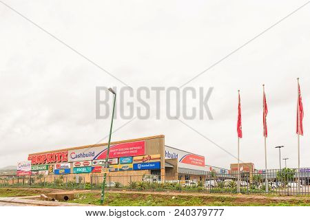 Tugela Ferry, South Africa - March 22, 2018: A Mall In Tugela Ferry In The Kwazulu-natal Province. S
