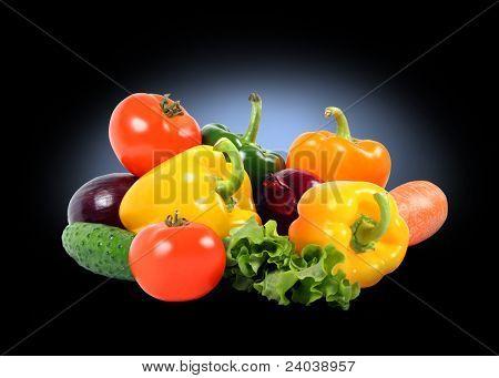 splendid vegetable composition high quality