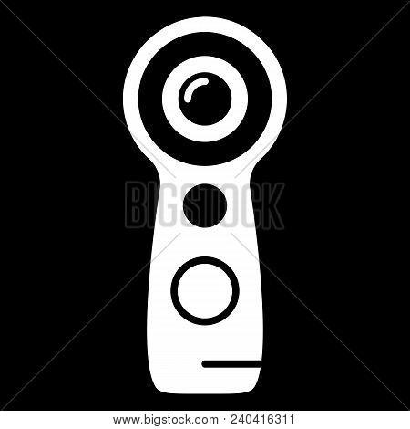 Virtual Reality Remote Control Icon. Silhouette Virtual Reality Remote Control Vector Icon For Web D