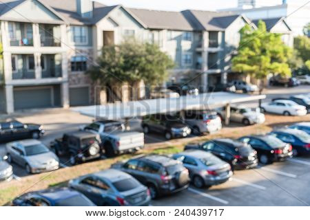 Apartment Parking Blur
