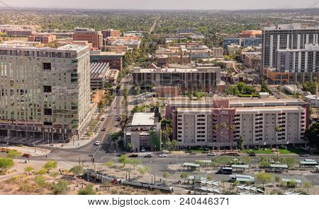 Tempe,Az/USA - 5.2.2018:  The 2018 university ratings by U.S. News & World Report rank ASU No. 1 among the Most Innovative Schools in America for the third year in a row