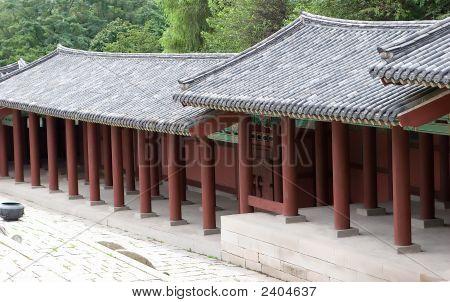 Oriental Covered Walkway