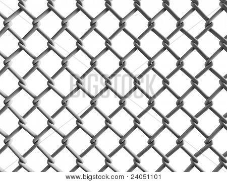 Seamless construction net.
