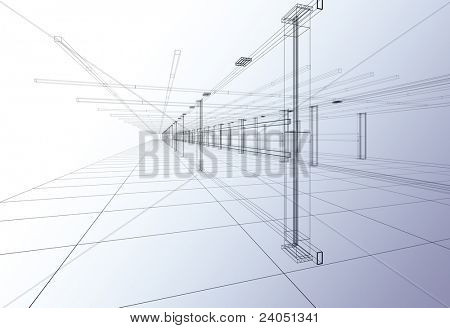 3D Abstract construction