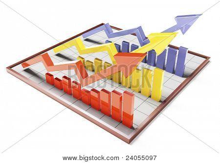 Farbe 3d Bar Graph