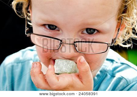 Messy Child And Turkish Delight