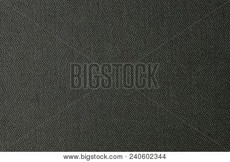 Embossed Cardboard Background, Black Color, Close Up