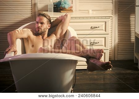 Relax Man In Bath, Relaxing. Relax, Relaxing Relaxation Pleasure